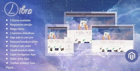 17 Creative New Magento eCommerce templates - Download New Themes | ecommerce | Scoop.it