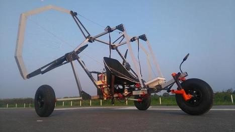 Student-Built 'Paratrike' Is an Incredibly Light Flying Car   Useful technology around LENR Cold Fusion   Scoop.it