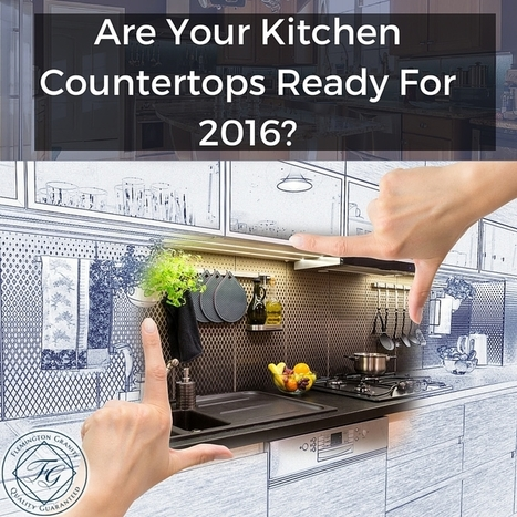 Are Your Kitchen Countertops Ready For 2016? - Flemington Granite | Home Improvement, Modular Construction, Modular Buildings, Prefabricated Building | Scoop.it