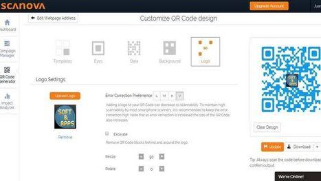 Scanova: utilidad web para crear códigos QR con tu logo | Educacion, ecologia y TIC | Scoop.it