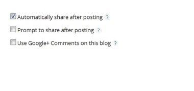 Share Blog Posts To Google+ Automatically in Blogger - Blogger Wordpress Tricks | Blogger Bulk | Scoop.it