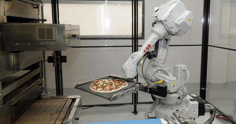 Could the future of pizza be in the hands of robots? | 3D Virtual-Real Worlds: Ed Tech | Scoop.it