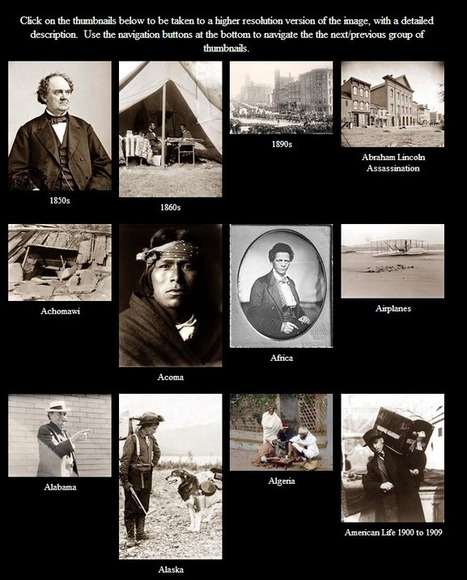 Learning Never Stops: Old Pictures - Thousands of historic photographs and maps | Enseñar Geografía e Historia en Secundaria | Scoop.it