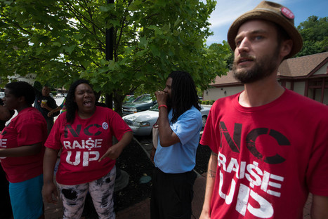 Activists and workers rally for fired Hardee's employee - Mountain Xpress | Labor and Employee Relations | Scoop.it