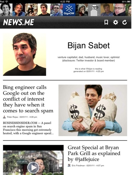 Exclusive: An Early Look At News.me, The New York Times' Answer To The Daily | Brand & Content Curation | Scoop.it