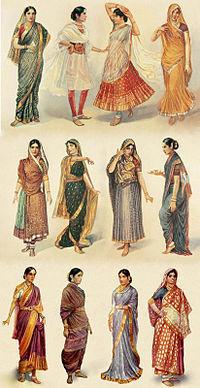 Styles of Sari | Language and Culture. | Scoop.it