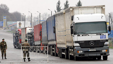 Activists Block Russian Trucks in Zhytomyr Region | Global politics | Scoop.it
