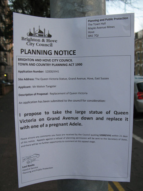 Planning Notices in Brighton | World of Street & Outdoor Arts | Scoop.it