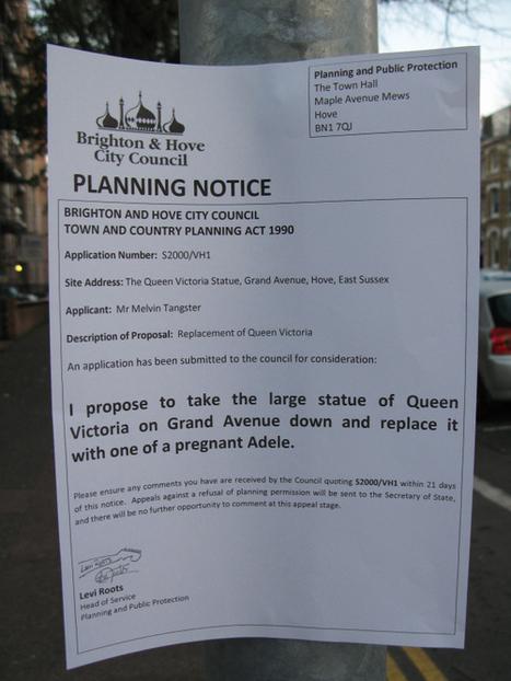 Planning Notices inBrighton | World of Street & Outdoor Arts | Scoop.it
