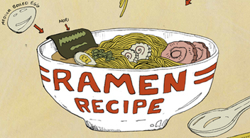 Recipe Comix: <i>Tonkotsu</i> Ramen - Saveur.com | Foodie | Scoop.it