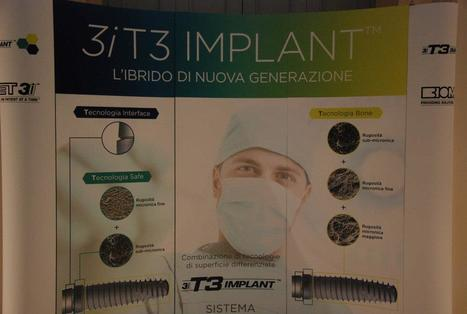 From Biomet 3i Congress Verona Italy the New hybrid surface 3i T3 Implant™. | Dental Implant and Bone Regeneration | Scoop.it
