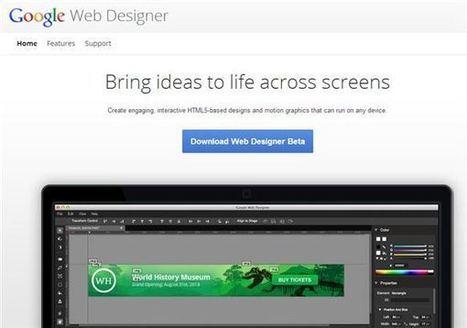 t - applicada: Google lanza herramienta para crear sitios web y anuncios en HTML5 | Herramientas digitales | Scoop.it