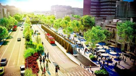Busy Mexico City street to be reclaimed as green space and linear park | Sustainable Futures | Scoop.it