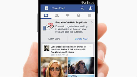 Facebook now has a donate button for Ebola | Social Media Useful Info | Scoop.it