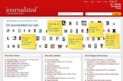 journalisted.com   Top sites for journalists   Scoop.it