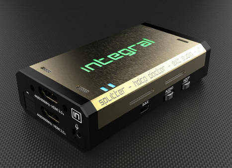 HDFury Integral 4K60 HDMI 2.0 Splitter Promises to Fix HDMI 2.0 & HDCP 2.2 Issues | Embedded Systems News | Scoop.it