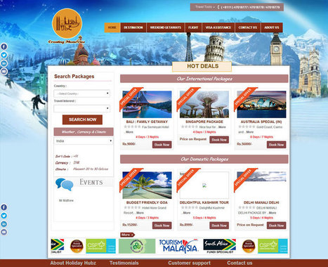 Travel Content Management System | Travel CMS | Travel Web Application - Maco Infotech | Big For Small | Scoop.it