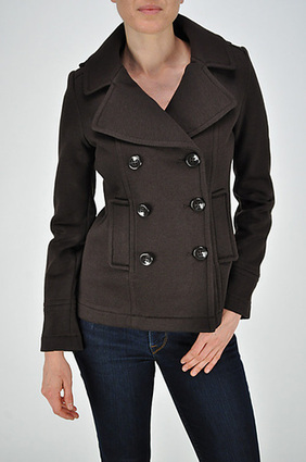 CVC FLEECE DOUBLE BREASTED JACKET | SAVE UPTO 60% | FREE SHIPPING | Women's Clothing at Bvira.com | Scoop.it