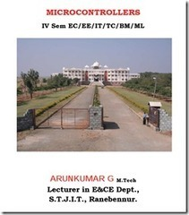 Microcontrollers Arunkumar Notes For VTU EC   Arun Kumar Notes   Scoop.it