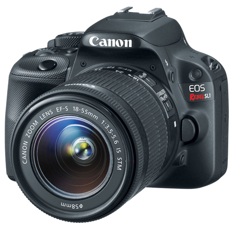 Canon Unveils World's Smallest D-SLR, The EOS Rebel SL1 - DailyTech | Earth without art it's just eh! | Scoop.it