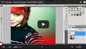 Photoshop Tutorials- Getting A Special Effect on Your Own Photographs | photo creativiti | Scoop.it