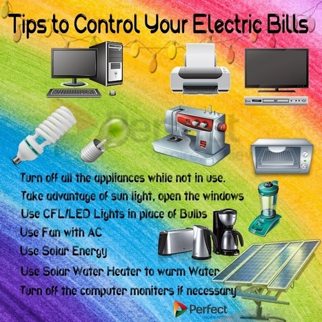 Tips to Control Your Electric Bills | Silent Diesel Generators | Scoop.it