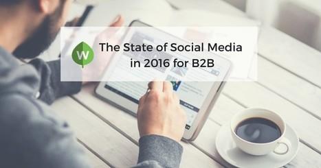 The State of Social Media in 2016 for B2B | WeeklyGrowth | Media Sociaux BtoB - Social Selling | Scoop.it