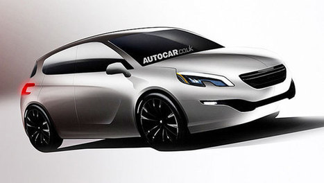 Future Peugeot 308 : et si elle ressemblait à ça ? | Vroum Vrouumm | Scoop.it