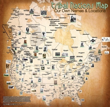 US/Canada Tribal Nations Map | Community Village Daily | Scoop.it
