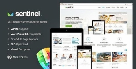 Sentinel - Responsive Multi-Purpose Theme | Free Download Template | Scoop.it