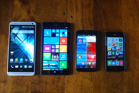 Why are phones continuing to get bigger? (Hint: Think post-PC) | Linguagem Virtual | Scoop.it