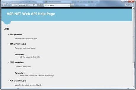 ASP.NET Web API: Generating a Web API help page using ApiExplorer - Yao's blog - Site Home - MSDN Blogs | .NET coding | Scoop.it