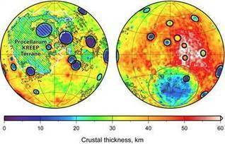 Moon surprise: Lunar craters are bigger on near side - NBCNews.com | Geology | Scoop.it