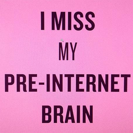 Avec Internet et les écrans, mon cerveau a-t-il muté ? « I miss my pre-Internet brain » Douglas Coupland