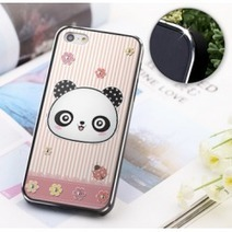 Pink panda iphone 5 case featuring bling diamond ears | Apple iPhone and iPad news | Scoop.it