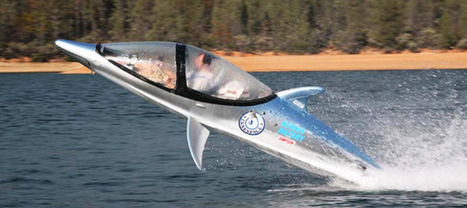 The Dolphin Boat Seabreacher can dive, jump and spin 360 degrees | OnlineCuration | Scoop.it