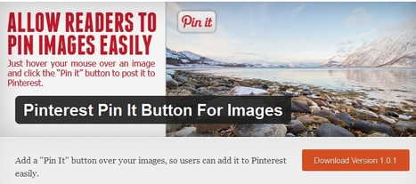 WordPress › Pinterest Pin It Button For Images « WordPress Plugins | Pinterest and Facebook Tweaking | Scoop.it