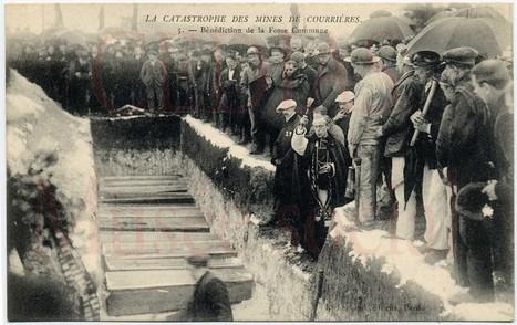 10 mars 1906, catastrophe dans les mines de Courrières (près de Lens) : 1100 morts | Nos Racines | Scoop.it