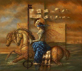 Jake Baddeley - symbolist painter and artist   ciberpocket   Scoop.it