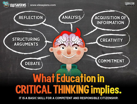What Education in Critical Thinking Implies Infographic | e-Learning Infographics | Era Digital - um olhar ciberantropológico | Scoop.it