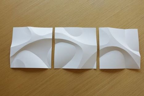 Curved Paper Folding | I didn't know it was impossible.. and I did it :-) - No sabia que era imposible.. y lo hice :-) | Scoop.it