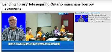 'Lending library' lets aspiring Ontario musicians borrow instruments | SocialLibrary | Scoop.it