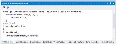 Node.js Tools 1.0 for Visual Studio - The Visual Studio Blog - Site Home - MSDN Blogs | Web Dev News | Scoop.it