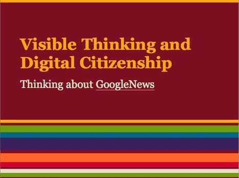 See Think Wonder: Digital Literacy and Visible Thinking | Rebekah ... | Thinking | Scoop.it