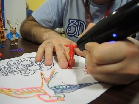 Hands on with the 3Doodler, the world's first 3D printing pen – sketching in ... - Stuff.tv | tecnologia s sustentabilidade | Scoop.it