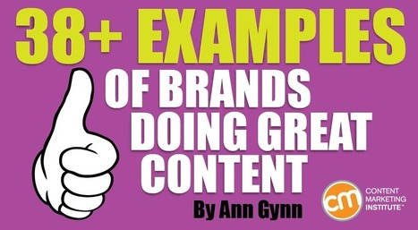 38+ Examples of Brands Doing Great Content | Social Media, SEO, Mobile, Digital Marketing | Scoop.it