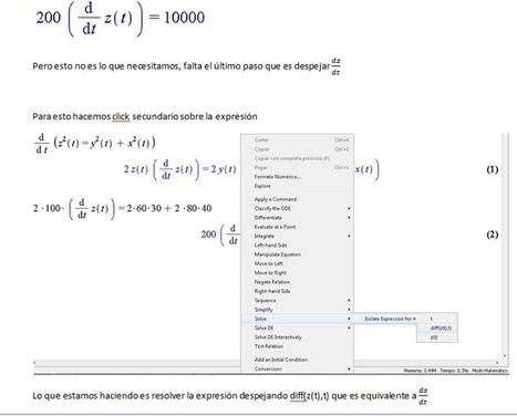 Taller de Integración III: Razones de Cambio Relacionadas   Software Maple   Scoop.it