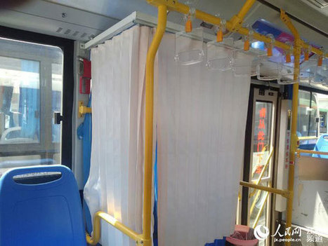 Buses offer private space for breastfeeding   News from nowhere   Scoop.it
