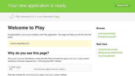 Day 30: Play Framework--A Java Developer Dream Framework | OpenShift by Red Hat | scala | Scoop.it