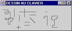Exercice Java: Synthèse dessin par le clavier (2)   Exercices Informatique   Scoop.it
